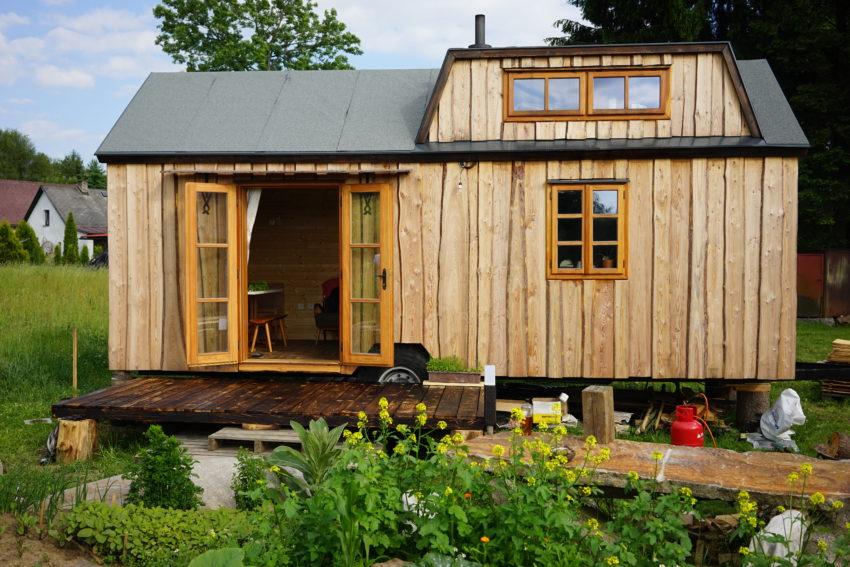 Dřevěný domek Tiny Home